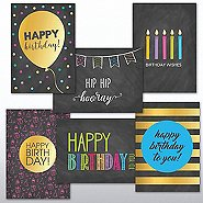 Classic Celebrations - Happy Birthday Chalkboard Assortment