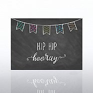 Classic Celebrations Card - Hip Hip Hooray Banner