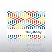 Classic Celebrations - Happy Birthday Triangles