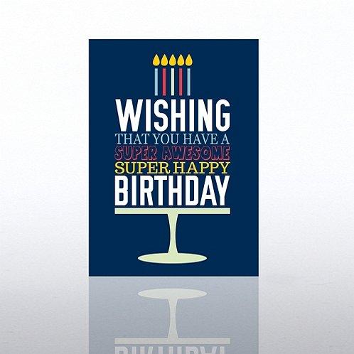 Classic Celebrations - Happy Birthday Word Cake