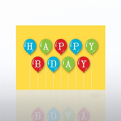 Classic Celebrations - Happy Birthday Balloons