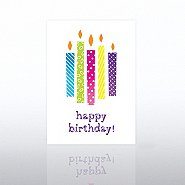 Classic Celebrations - Happy Birthday Lighted Candles