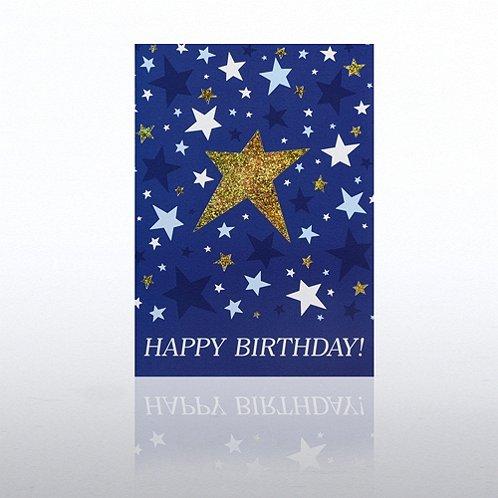 Classic Celebrations - Happy Birthday - Shining Stars