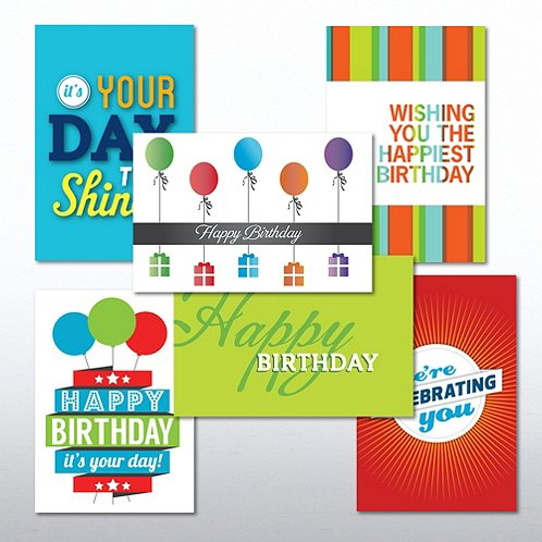 Value Greeting Card Assortment - Happy Birthday - Celebrate