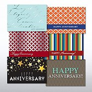 Anniversary cards at baudville value greeting card assortment happy anniversary m4hsunfo