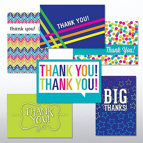 value greeting card assortment thanks at baudville com