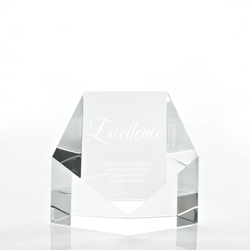 Crystal Trophy - Crystal Face