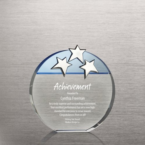 Triple Star Award - Blue