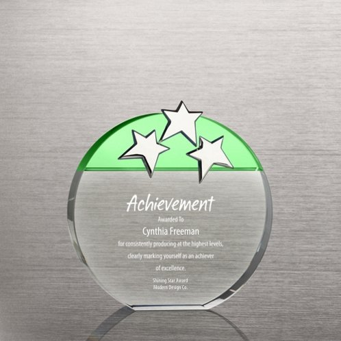 Triple Star Award - Green