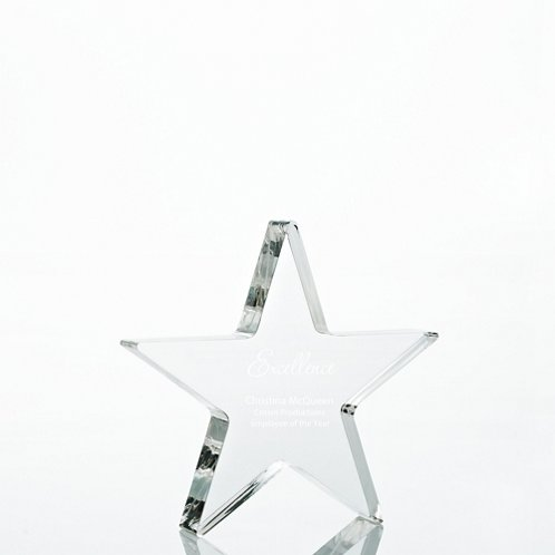 Star Acrylic Trophy - Star