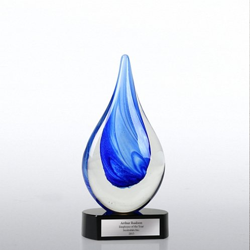 Art Glass Trophy