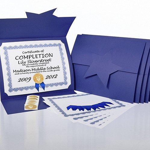 Certificate Paper Bundle - Academic Star