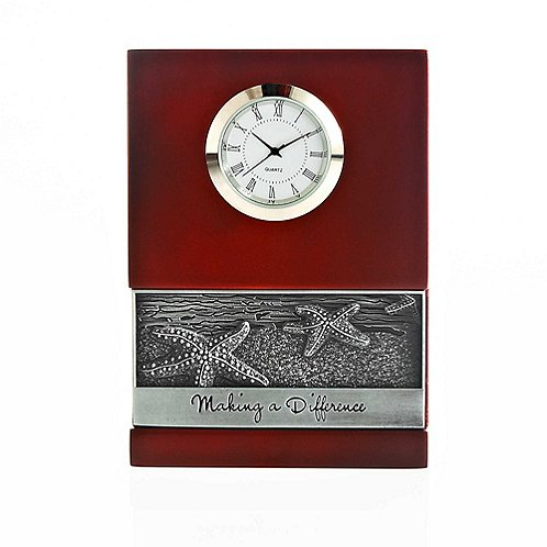Character Impression Clock - Starfish: Making a Difference