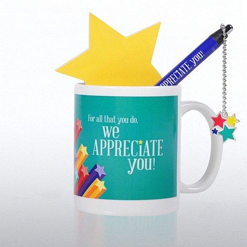Celebration Gift Set - We Appreciate You Stars