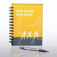Journal & Pen Gift Set - One Team, One Goal