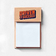 Value Sticky Notepad - Driven To Succeed