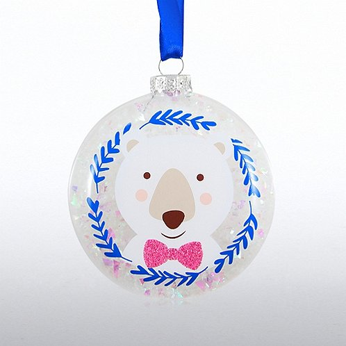 Snowy Ornament Globe - Making A Difference It's What I Do