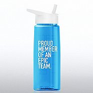 Healthy Vibes Water Bottle - Proud Member Of An Epic Team