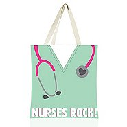Colorific Tote - Nurses Rock!