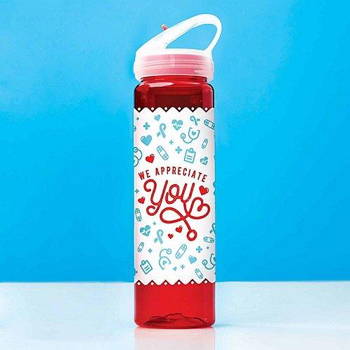 Colorsplash Value Water Bottle - We Appreciate You