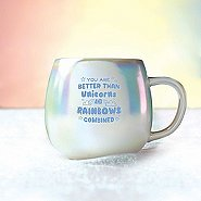 Unicorn Ceramic Mug - Unicorns And Rainbows