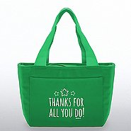 Color Pop Value Cooler Tote - Thanks For All You Do