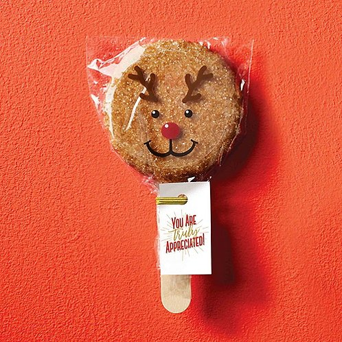 Cookie Pops - Reindeer You Are Truly Appreciated