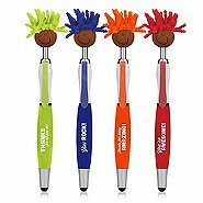 Goofy Screen Cleaner Stylus Pen Pack - Multicultural