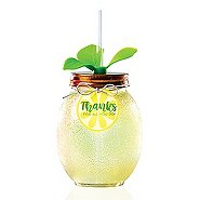 Shimmering Lemon Tumbler - Thanks for All You Do!