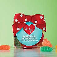 Flower Power Gummy Gift Cube - MAD: It's What Nurses Do!