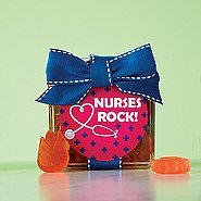 Flower Power Gummy Gift Cube - Nurses Rock!