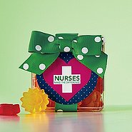 Flower Power Gummy Gift Cube - Nurses Make the Difference