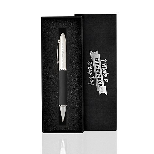 Silver Gift Pen - I Make a Difference Every Day