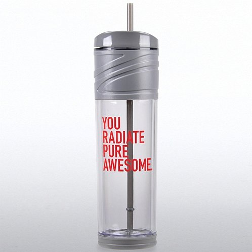 California Tumbler - Exclamations: You Radiate Pure Awesome