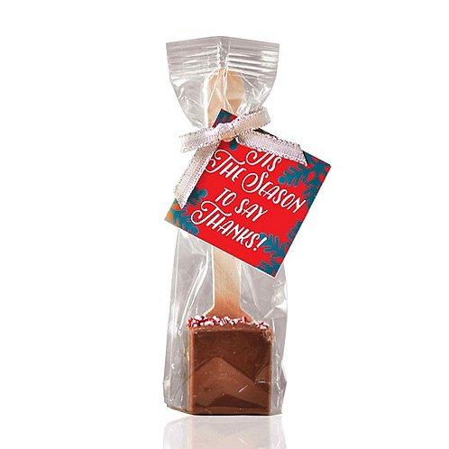 Hot Cocoa Spoon - Tis The Season to Say Thanks!
