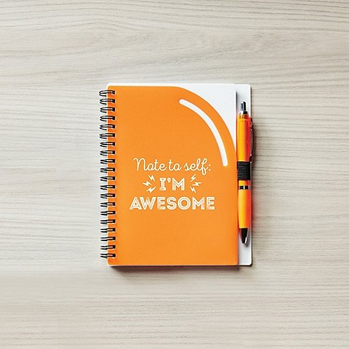 Color Pop Value Journal & Pen - Note To Self: I'm Awesome