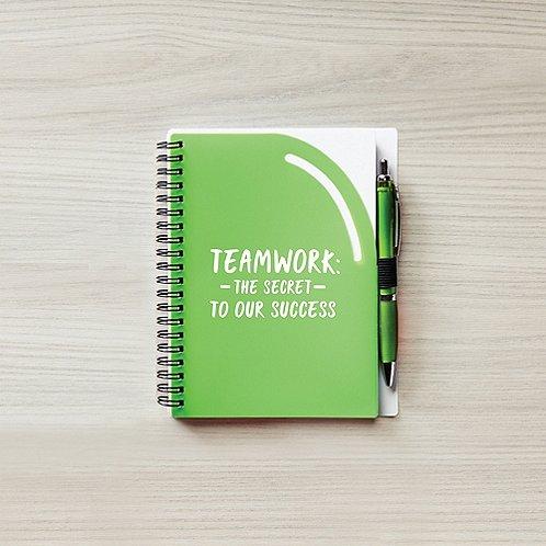 Color Pop Value Journal & Pen - Teamwork: Secret to Success