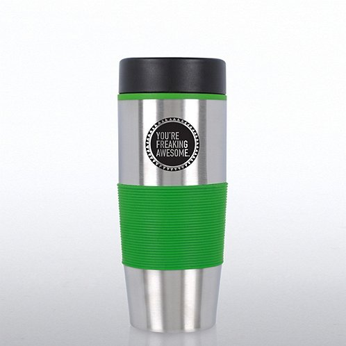 Value Stainless Steel Travel Mug - You're Freaking Awesome