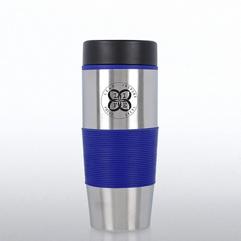 Value Stainless Steel Travel Mug - LIFE - Lead Inspire Focus