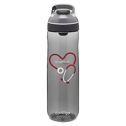 Contigo Water Bottle - Stethoscope: We Appreciate You