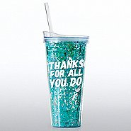 Confetti Tumbler - Thanks For All You Do