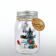 'Tis the Season - Holiday Mason Jar- Thanks for a Great Year