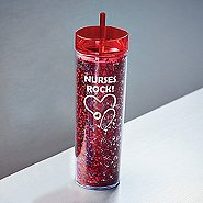 Confetti Healthcare Tumbler - Nurses Rock!