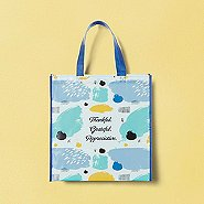 Artful Value Shopper Tote - Thankful. Grateful. Appreciative