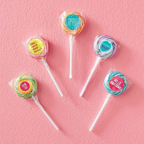 Swirly Twirly Lollipop 5-Pack