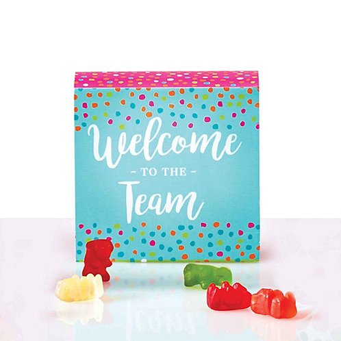 Beary Good Candy-Filled Box - Welcome To The Team