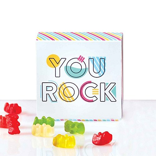 Beary Good Candy-Filled Box - You Rock