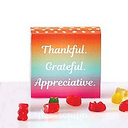 Beary Good Candy-Filled Box - Thankful Grateful Appreciative