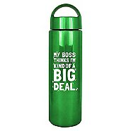 Brilliantly Colored Water Bottle - Big Deal