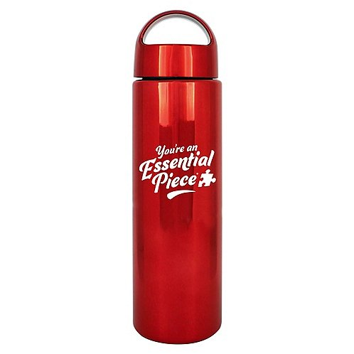 Brilliantly Colored Water Bottle - You're an Essential Piece